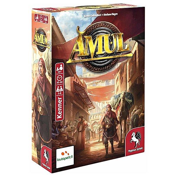 Kartenspiel - Amul - Pegasus Spiele (und einige andere Gesellschaftsspiele - Jokers Sammeldeal)