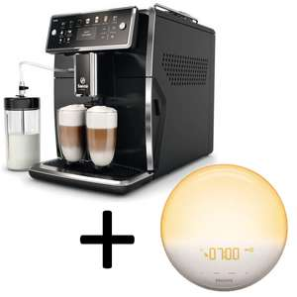 Saeco SM 7580 Xelsis Kaffeevollautomat + Philips HF3519/01 Wake-Up Light Gratis (statt 129€)