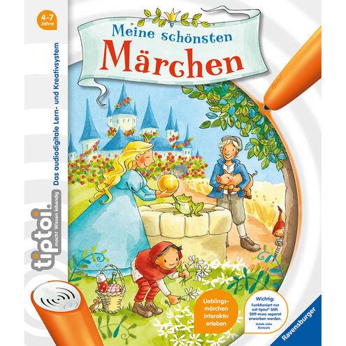 Diverse tiptoi Bücher mit 25% Rabatt: z.B. Meine schönsten Märchen und Die Eiskönigin - Völlig unverfroren für 14,99€ statt 19,99€