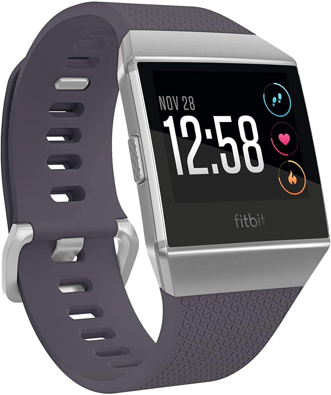Fitbit Ionic blaugrau/silbergrau Smartwatch (Kontinuierliche Herzfrequenzaufzeichnung, Integriertes GPS) [Amazon]