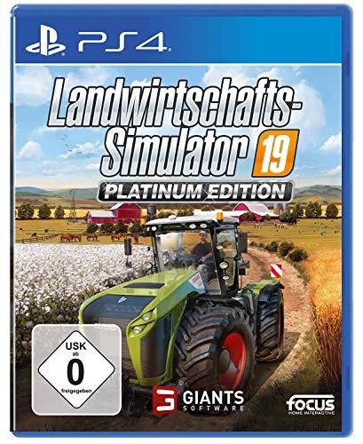 Landwirtschafts-Simulator 19 Platinum Edition (PS4)