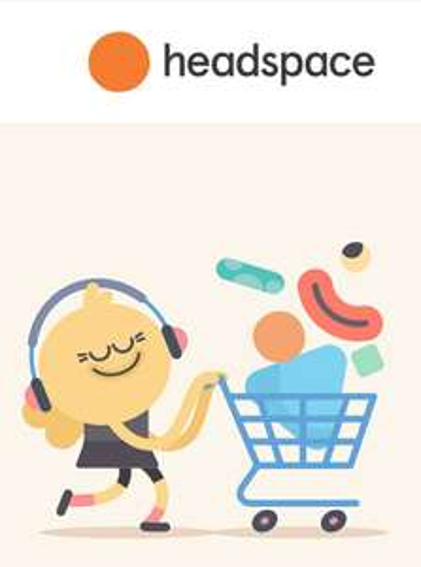 Headspace Jahresabo für 34,79 EUR, -ca. 40%