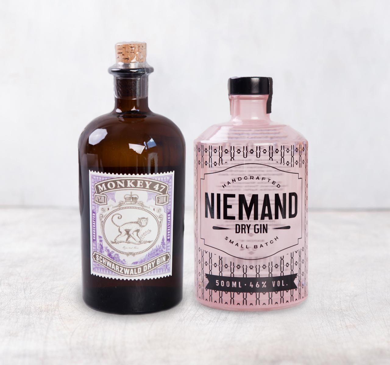 (Foodist] Monkey 47 & Niemand Dry Gin