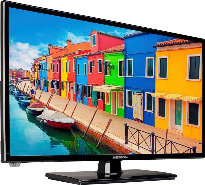 Medion® LIFE® E12443 LCD-LED Fernseher (59,9 cm/23,6 Zoll, Full HD, mit DVD Player)