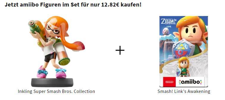 [Saturn] Amiibo Inkling und Zelda zusammen 12,82