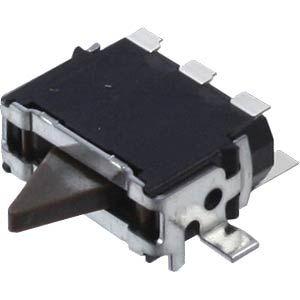 [Paydirekt] Panasonic RD Micro: Mikroschalter (1 Wechsel, 0.35N Bestätigung, -10 bis 70°C)