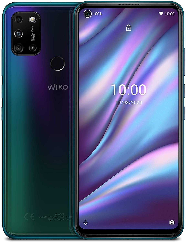 WIKO VIEW5 Plus Smartphone (6,55 Zoll (16,63 cm), 5000 mAh Akku, 48 MP KI-Quad-Kamera, O-Display, 128GB + 4GB [Saturn & Mediamarkt]