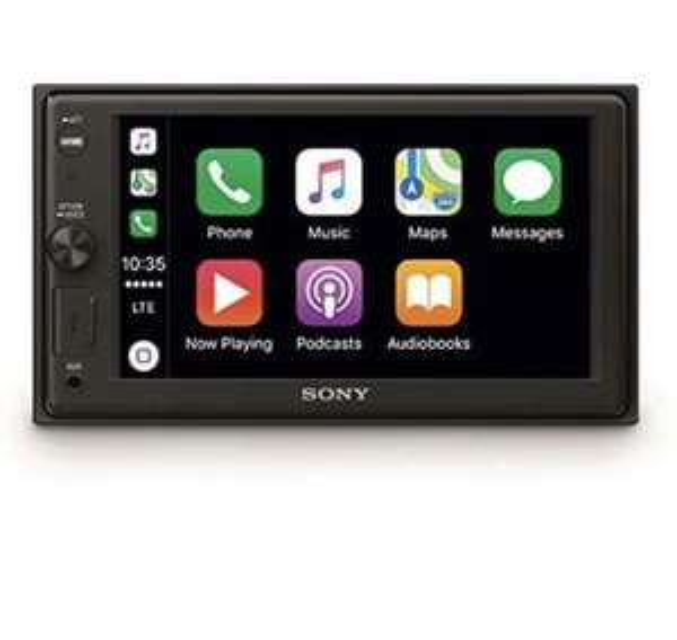 Sony XAV-AX1000 Media Receiver (Touchscreen 6,2 Zoll, mit Bluetooth und Apple CarPlay)
