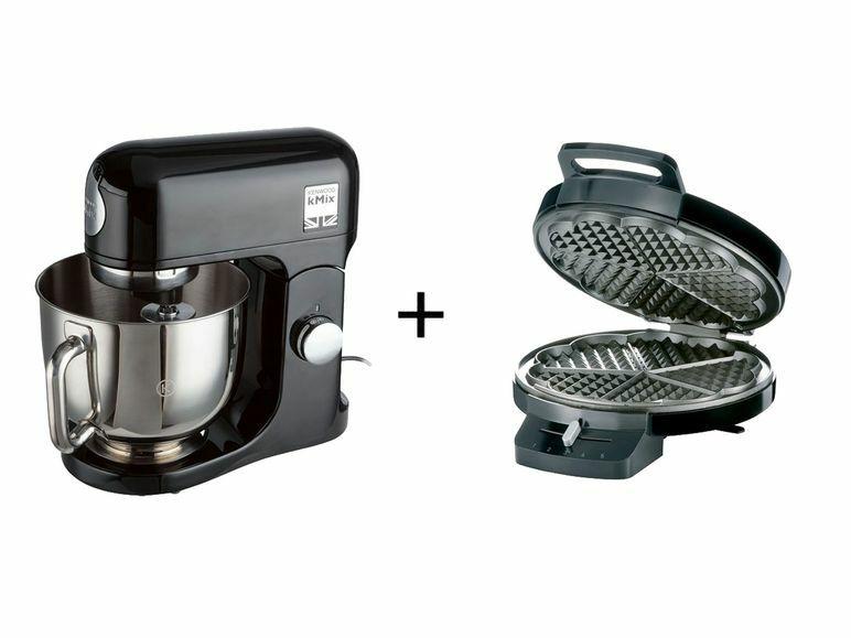 KMX750AB Kenwood Küchenmaschine + Waffeleisen @lidl