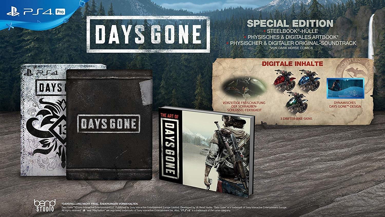 Days Gone Special Edition (PS4) für 32,95€ (Fnac.com)