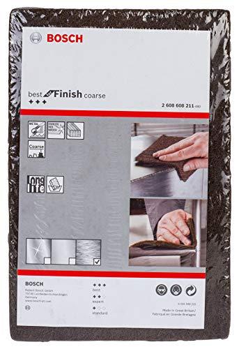(Prime) Bosch Professional Schleifvlies Best for Finish Coarse (Feinheitsgrad: grob, 152 x 229 mm, Zubehör Handschleifen)