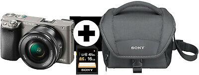 Sony Alpha 6000 Kit 16-50 mm + 16GB SD + Kameratasche graphit [eBay Saturn & MediaMarkt]