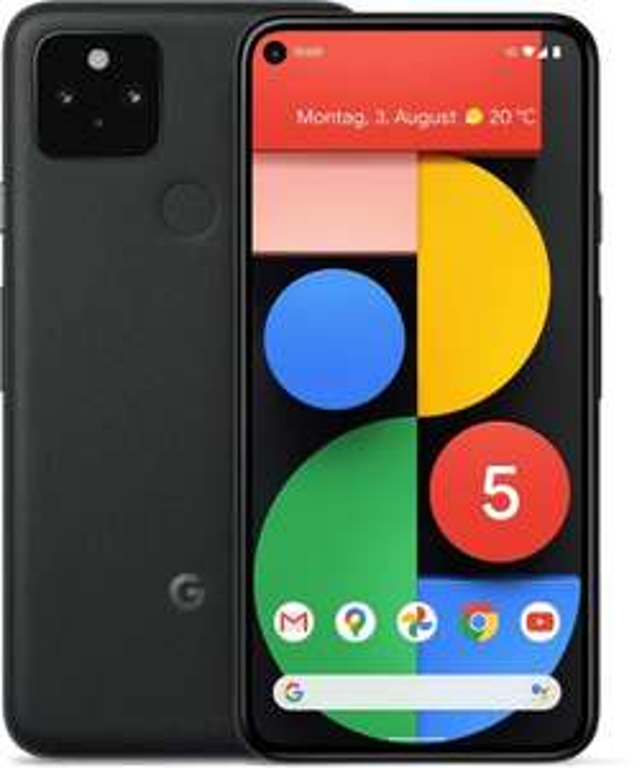 "Google Pixel 5 8+128GB (5G, 6"" OLED, 90Hz, 12MP f/1.7 OIS, 16MP Weitwinkel, SD765G, Fingerprint, NFC, 4080mAh, IP68) [Mediamarkt eBay]"