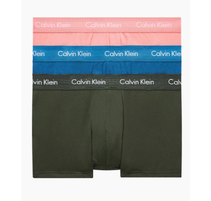 3ER-PACK Calvin Klein HÜFT-SHORTS - COTTON STRETCH