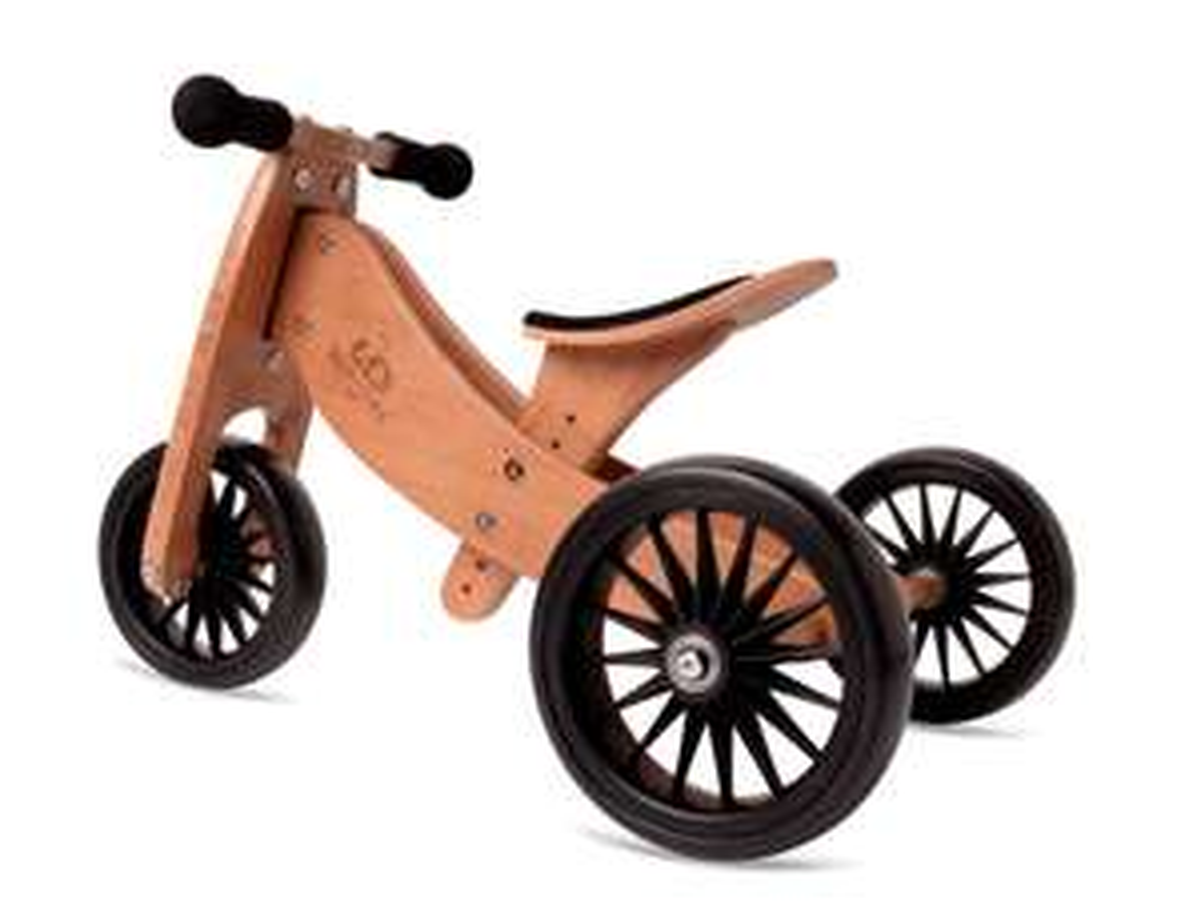 Kinderfeets Laufrad 2-in-1 PLUS Bambus