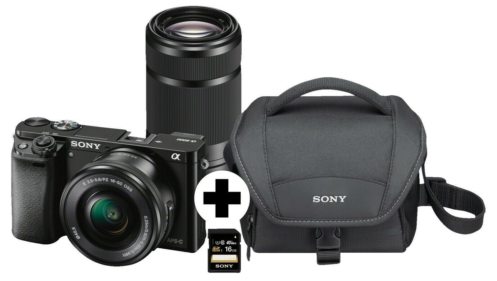 [eBay/MM] SONY Alpha 6000 ZOOM+TELEZOOM KIT, 16-50mm & 55-210mm