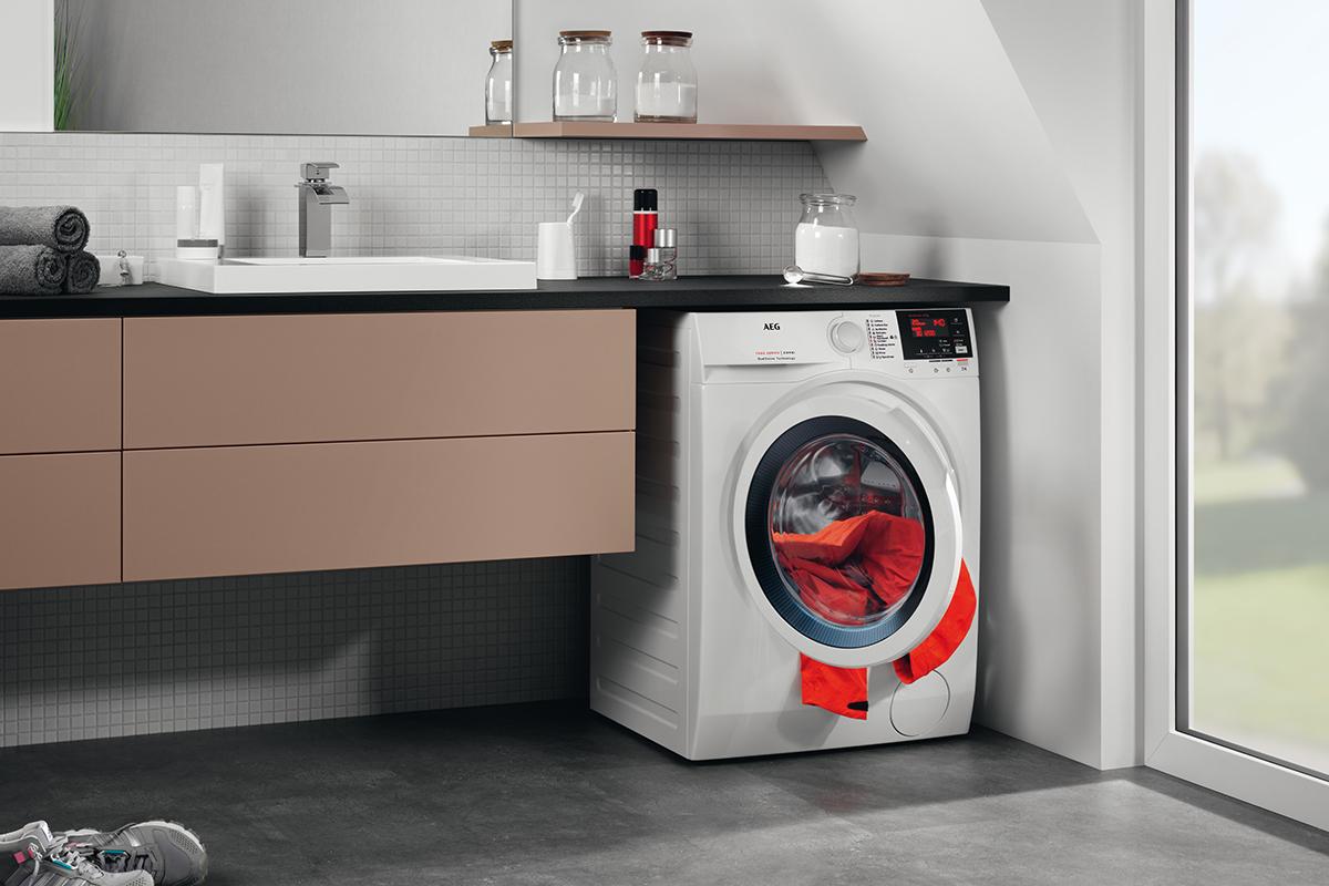 AO - AEG L7WB65684 Waschtrockner - 8kg waschen / 4kg trocknen - Pro Steam