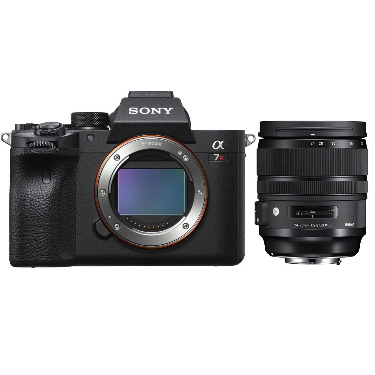 Sony Alpha 7R III Body + Sigma 24-70 mm F2,8 DG DN ART Objektiv (exkl. 500€ Cashback = 2799€)
