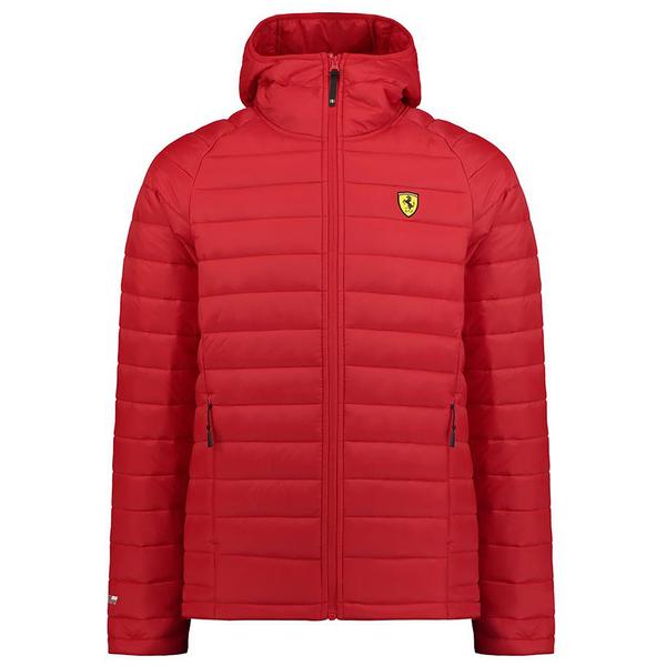 Ferrari Herren Steppjacke in rot (Gr. XS - XXL)