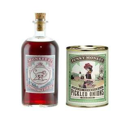 Monkey 47 Sloe Gin + Funky Monkey Pickled Onions für 32,90€ (statt 40€)