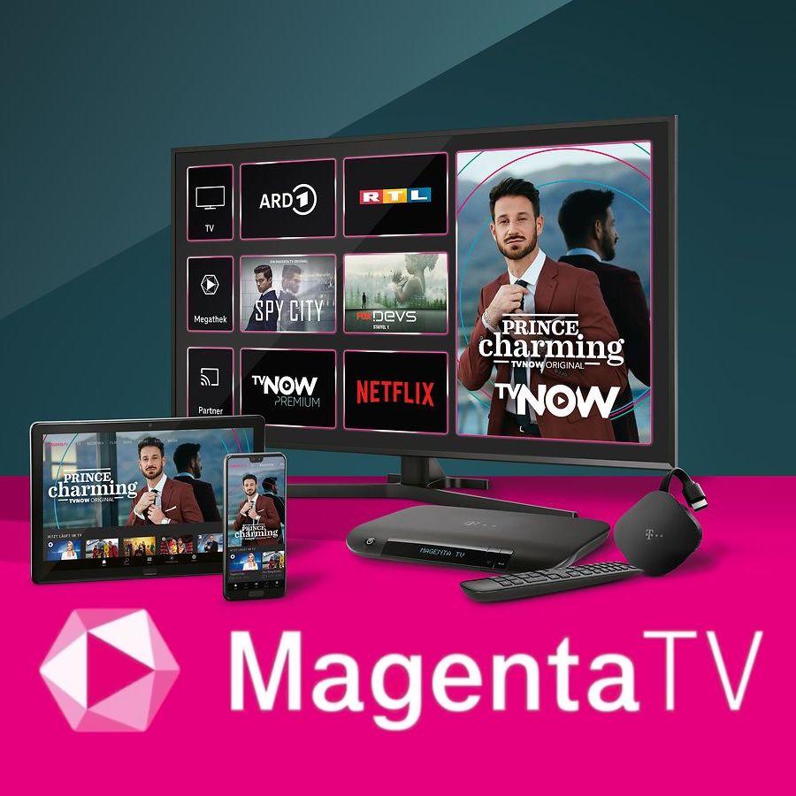 Telekom Magenta Zuhause mit MagentaTV: z.B. M Basic ab eff. mtl. 19,95€ mit 480€ Bonus (240€ Cashback + 120€ Onlinebonus + 120€ TV-Bonus)