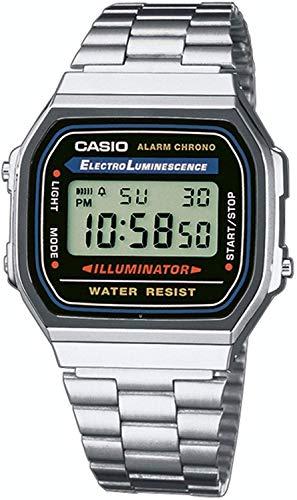Eine 90er Uhr von Casio - A168WA-1