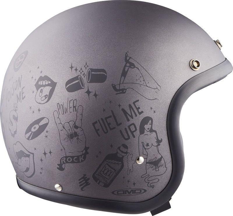DMD Motorrad Helm RESTPOSTEN bei Louis, Gr. XS-L