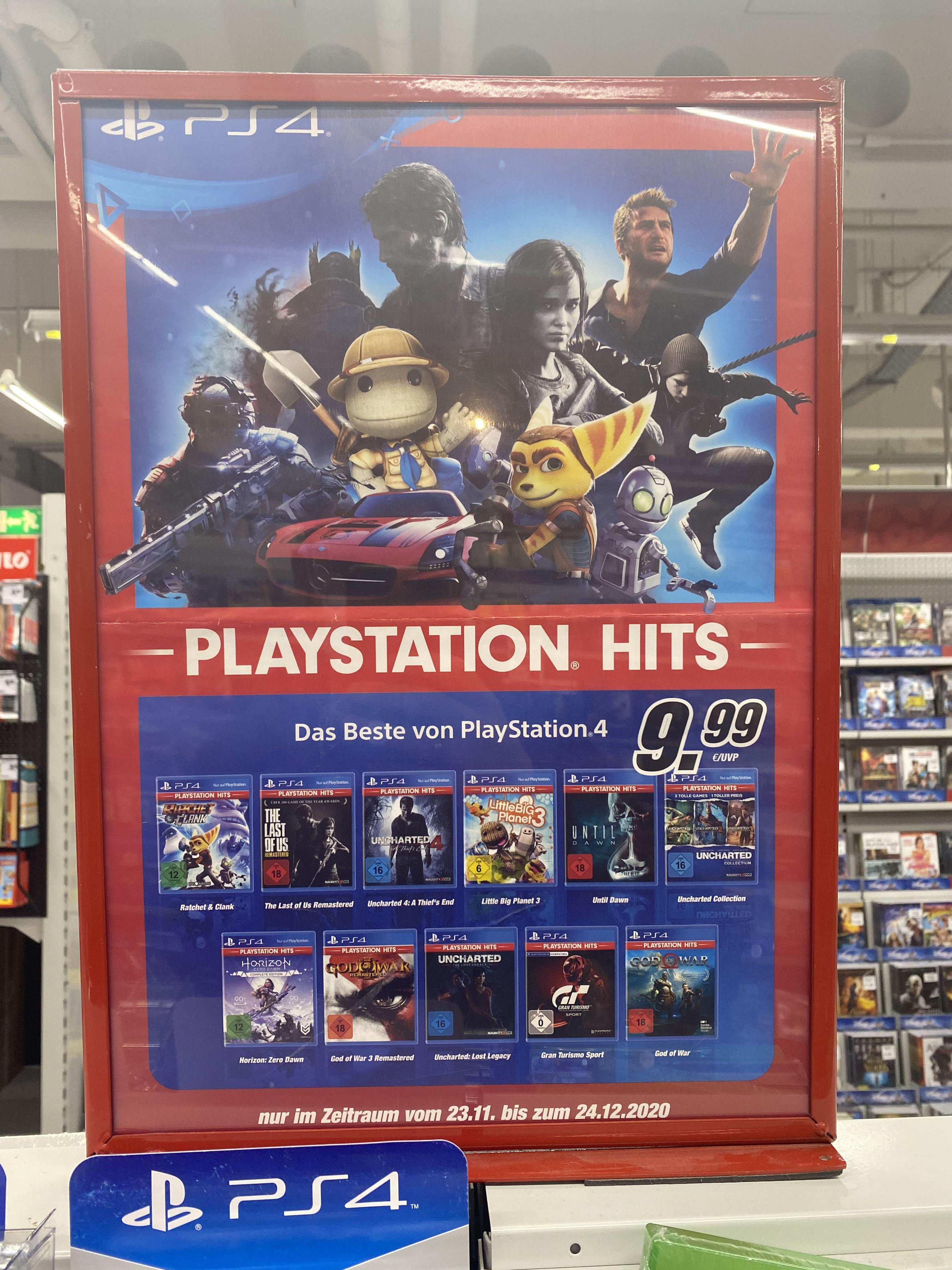 1 von 4 PS4 Games für 9,99€ und gratis Fallout 76 dazu Bundesweit in den Real Filialen