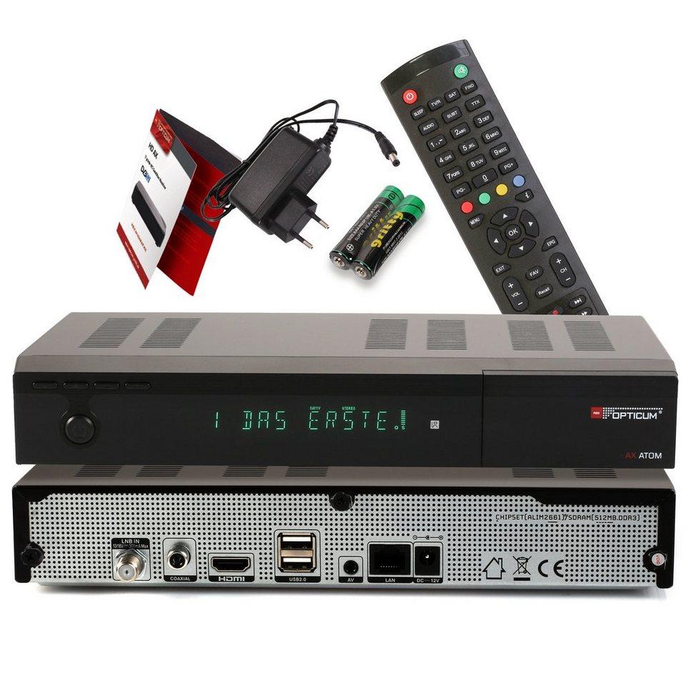 (Otto.de) Opticum UHD Sat Receiver Atom 4K und IP TV Ready unter 60,00 €