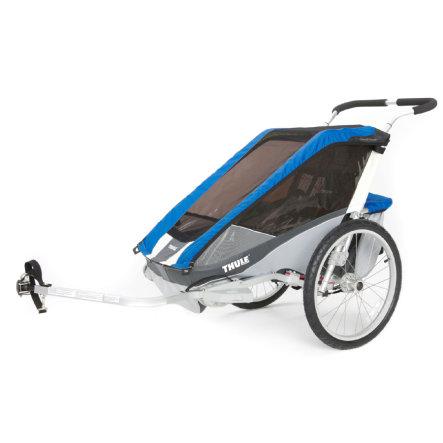 THULE Kinderfahrradanhänger Chariot Cougar 2 Blue, 554,99€ möglich