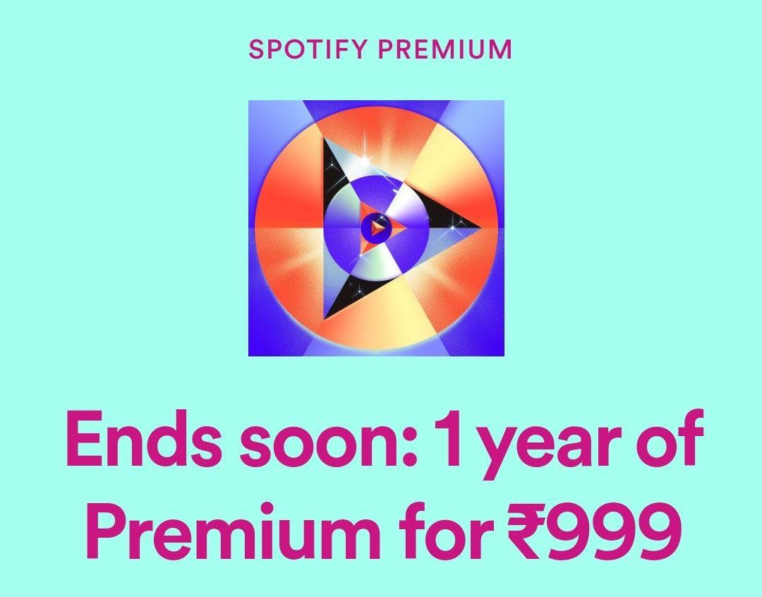 Spotify Jahresabo 999 Rupien (VPN)