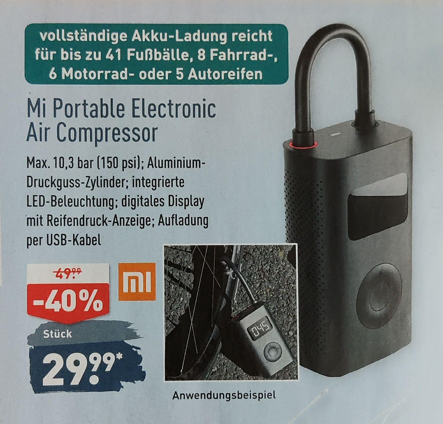 [Aldi Nord] Xiaomi Mi Portable Electric Air Compressor