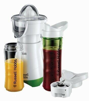 Russell Hobbs 2in1 Smoothie Maker Explore Mix&Go Juice Zitruspresse Stand-Mixer
