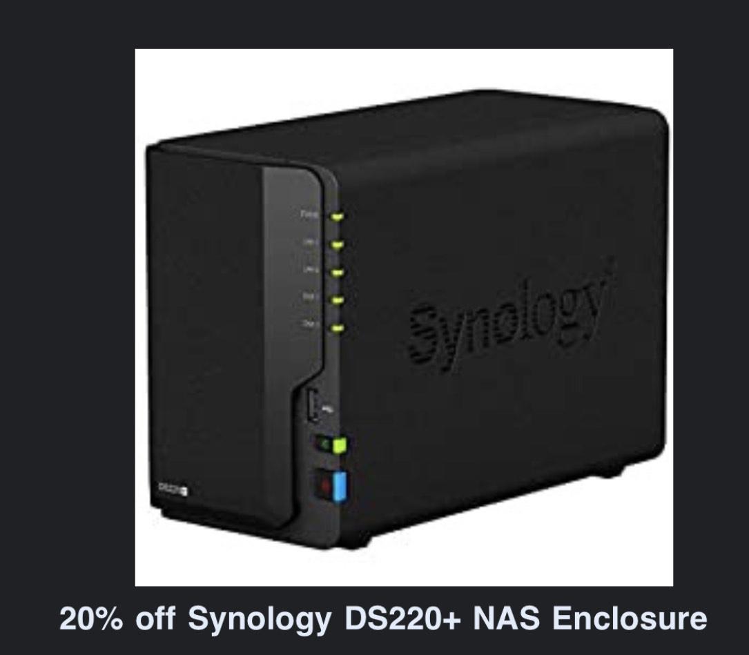 Synology DS220+ Amazon.co.uk