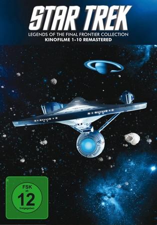 Star Trek 1-10 - Box - Remastered DVD oder BluRay