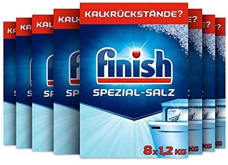 [Amazon Prime] Finish Spezialsalz, 8er Pack (8 x 1.2 kg = 9,6 kg) / personalisiert: 38,4 kg für 15,93 €