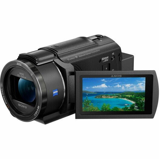 Sony FDR-AX43 4K Camcorder (exkl. 100€ Cashback = 449€) (Zeiss Optik, 20fach optischer Zoom)