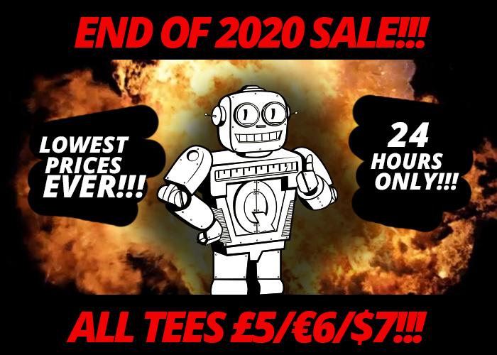 Qwertee.com: Alle T-Shirts €6. (Update: Wohl über den 29.12. 23:00 hinaus aktiv)