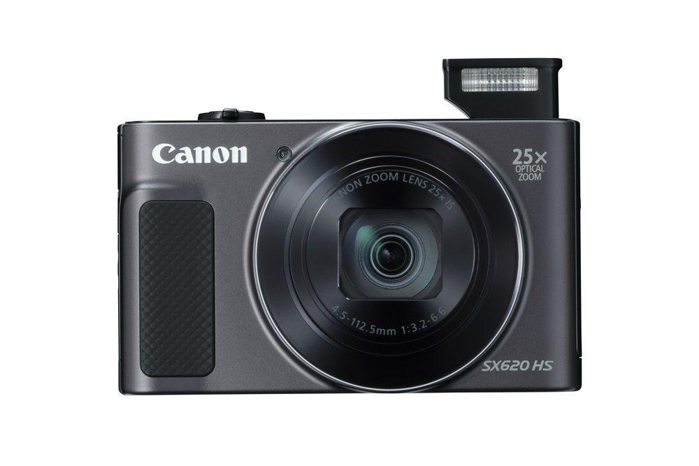 CANON PowerShot SX620 HS schwarz Kompaktkamera (20 Megapixel, WLAN, Wifi, NFC, GPS)