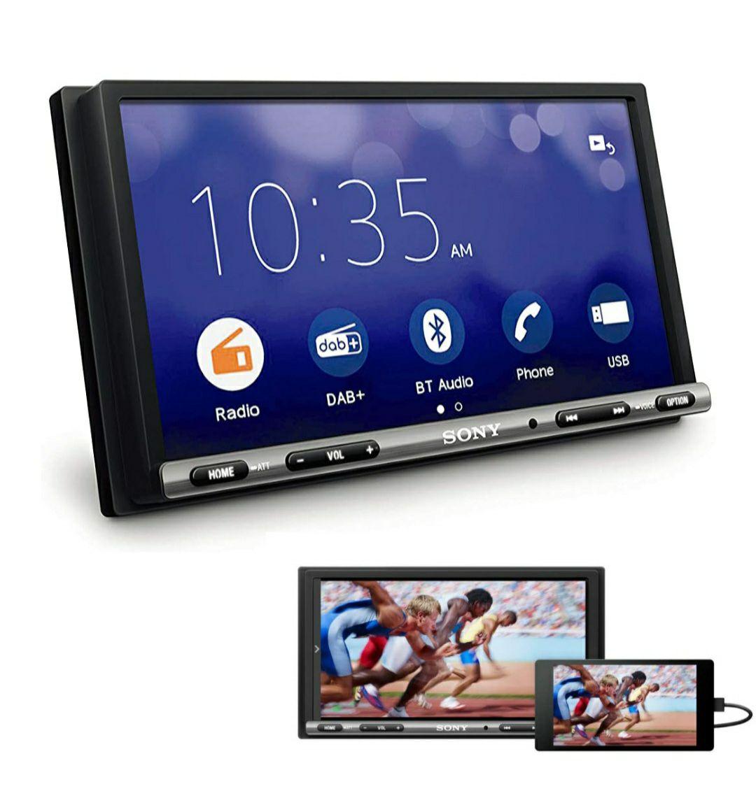 "[Amazon] Sony XAV-3550ANT Autoradio (DAB+/WebLink 2.0/Bluetooth/7"" Touchscreen/kompatibel mit Android & IOS & Rückfahrkamera"