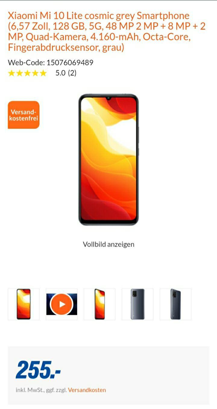 Xiaomi Mi 10 Lite 5G 128GB [Lokal] Expert Bad Neuenahr-Ahrweiler