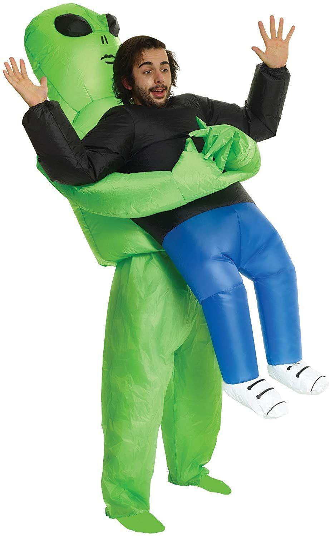 [Amazon] Original Morph Aufblasbares Alien Kostüm für Erwachsene, lustige Halloween Verkleidung - Einheitsgröße