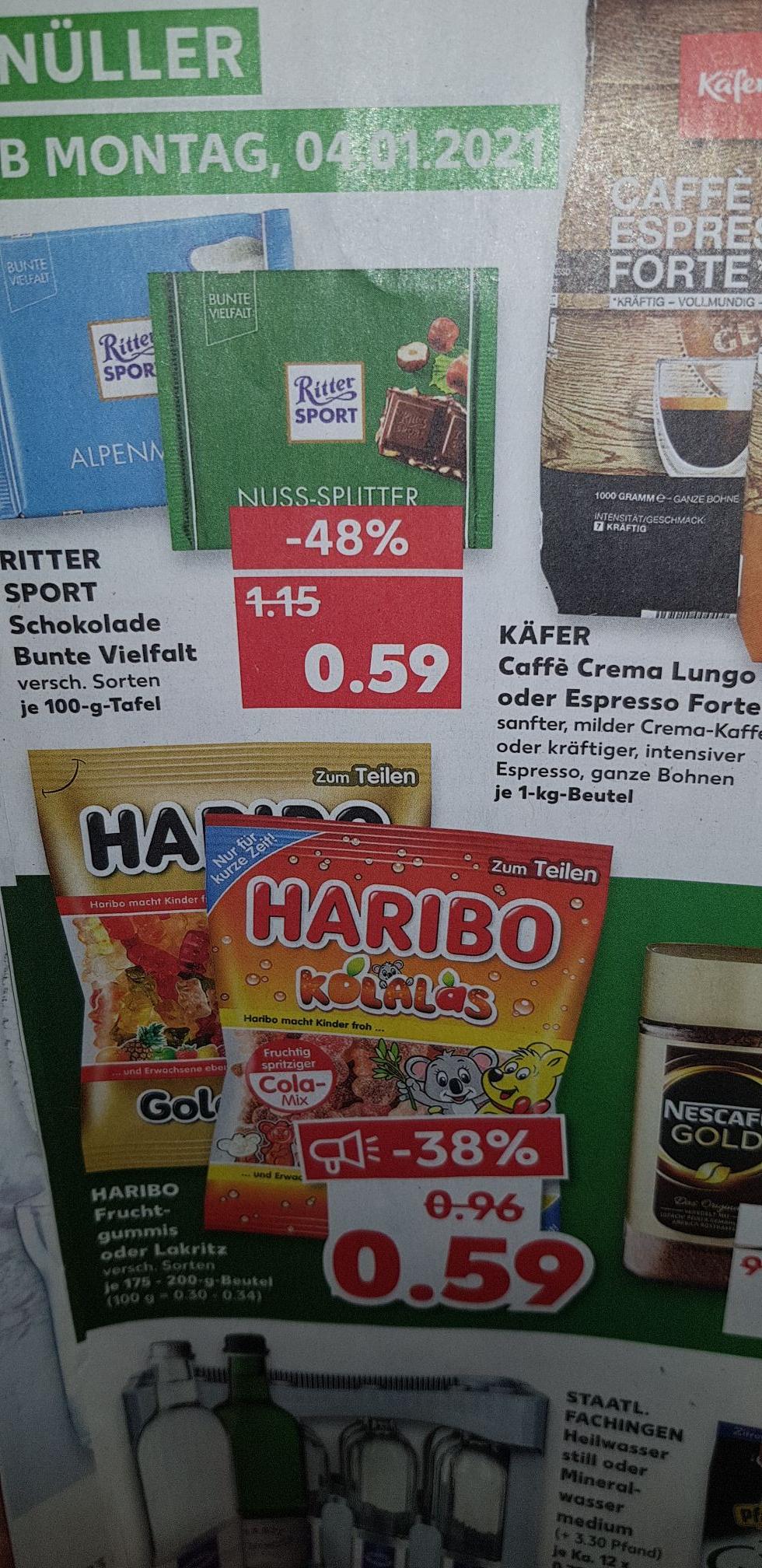 [Kaufland] Haribo 175-200g Beutel für 0,59 €