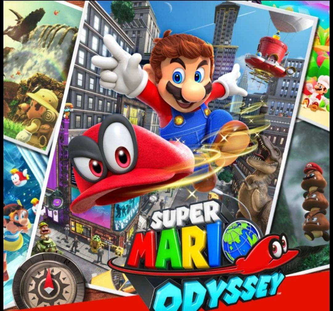 Mario Bross Nintendo Switch -Mario Kart 8 Deluxe-Mario Party -Super Mario Maker 2(Store HK) 31.38€ DEAL LESEN