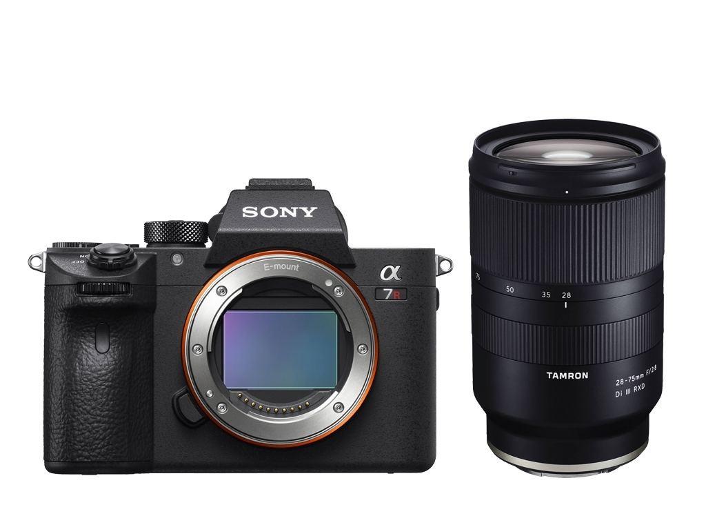 Sony Alpha 7R III + Tamron 28-75mm f2.8 + 2. Akku + Batteriegriff gratis + 500€ Cashback