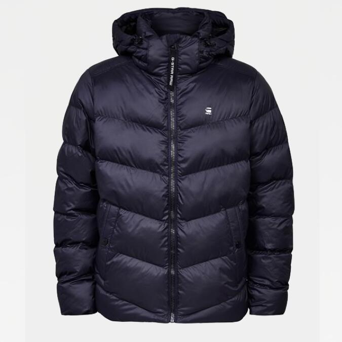 G-Star RAW Sale für Damen, Herren & Kinder: z.B. Whistler Hooded Puffer Jacke (Gr. XS - XXL) für 97,45€ statt 135€