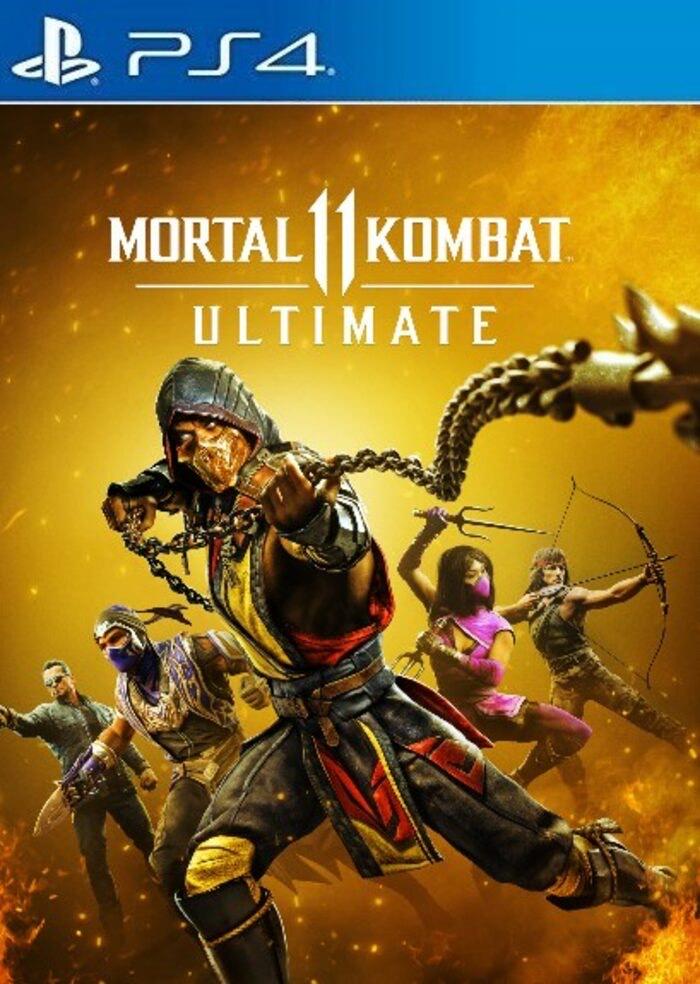 Mortal Kombat 11 Ultimate PS4/PS5 eneba.com PSN Key