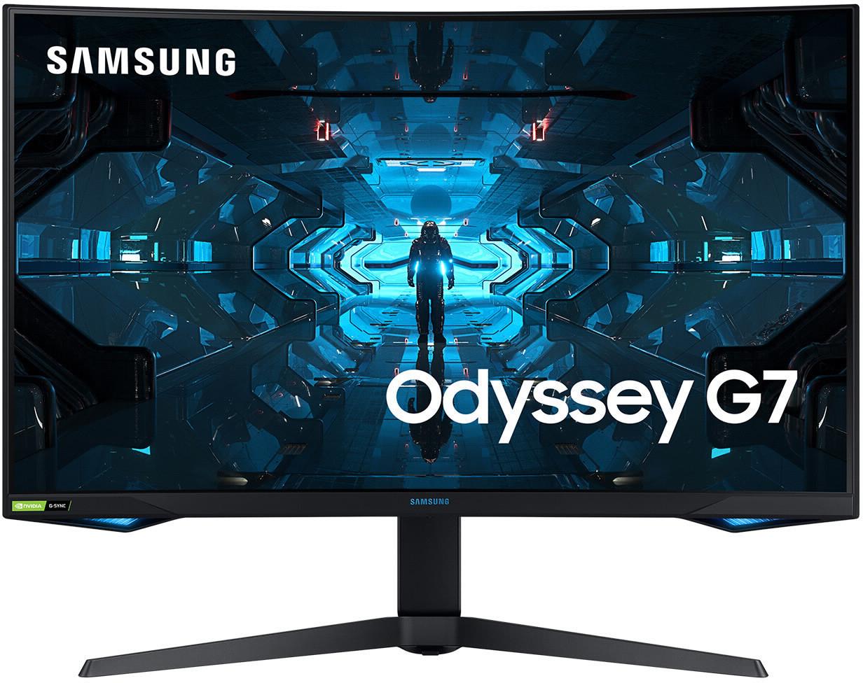Samsung Monitor odyssey g7 32 Zoll wqhd 240hz va hdr600 quantum dot