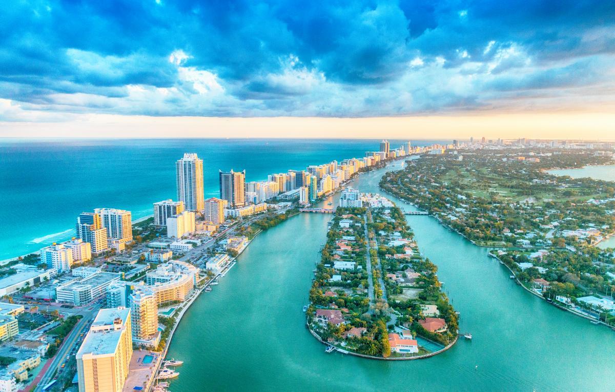 Flüge H/R Miami / Vereinigte Staaten vom (15. bis 21. April) TAP Business Class von Frankfurt ab 1230€