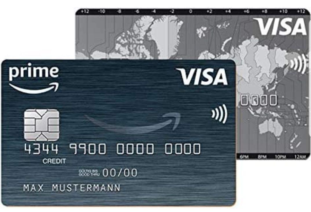 Wieder aktiv: 40€ Startguthaben nach erfolgreicher Beantragung AMAZON VISA Kreditkarte + bis zu 3% Cashback auf Bestellungen